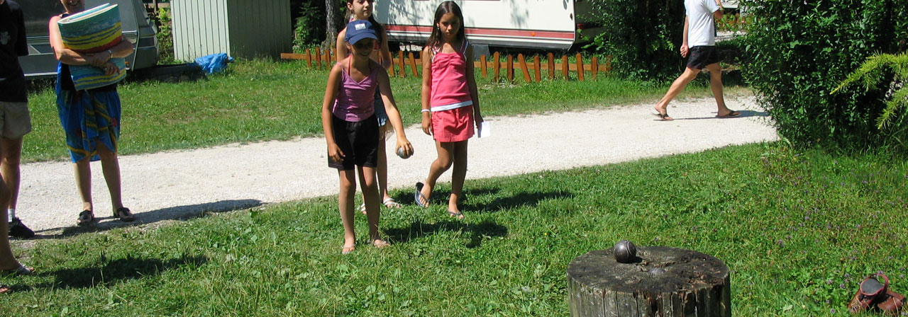 Camping le mont grêle - Animations camping